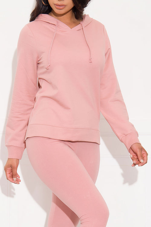 Casual Run Sweater/Hoodie Mauve