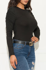 Never Been Better Long Sleeve Top Black
