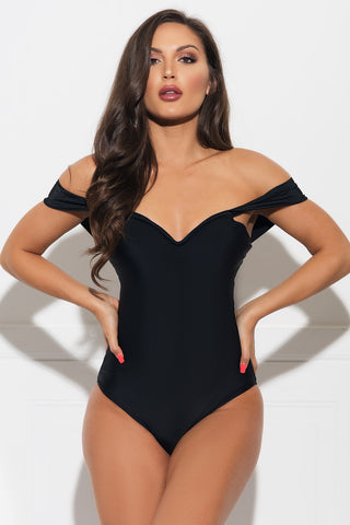 Hyams Beach One Piece Swimsuit - Blue