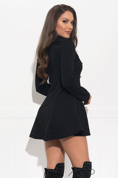 Analia Coat/Dress - Black