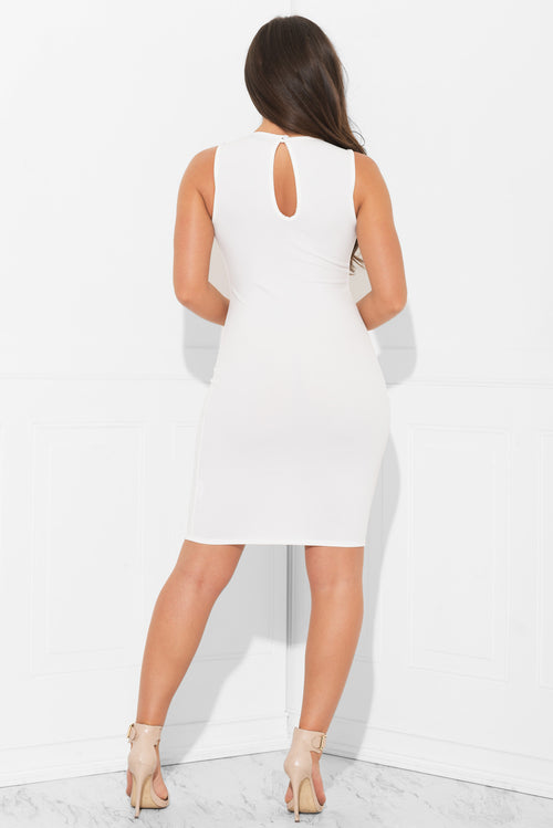 Melissa Dress White