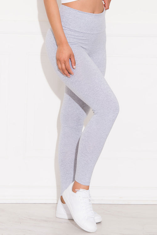 Skylar High Waist Leggings Grey