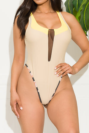 Gulf Shores One Piece Swimsuit Pink