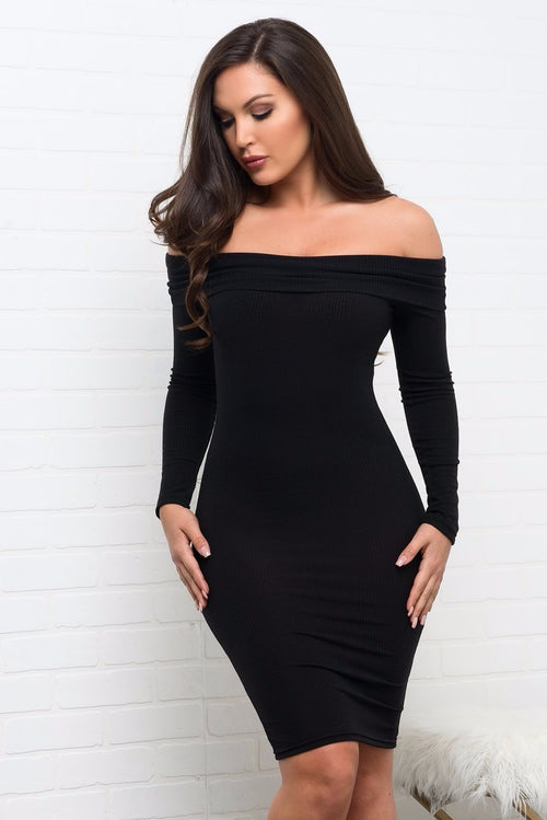 Cameryn Dress - Black