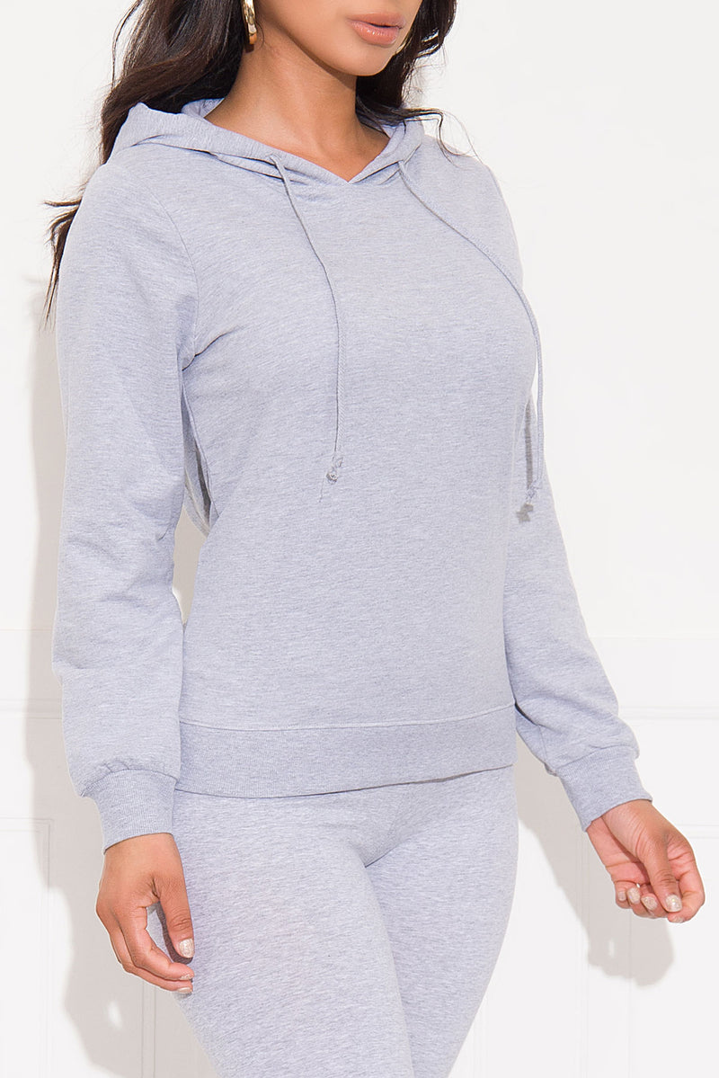 Casual Run Sweater/Hoodie Gray