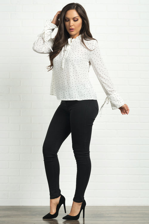 Nubia Blouse- White
