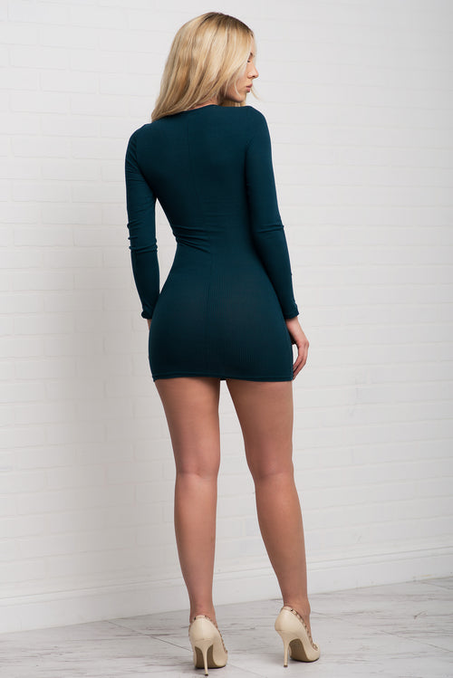 Jadelyn Dress  - Teal