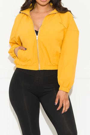 Keep It Simple Jacket Yellow