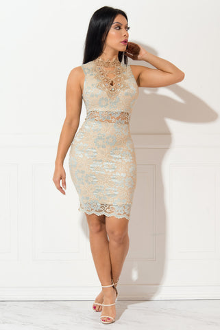 Stella Lace Dress - Fashion Effect Store  - 1