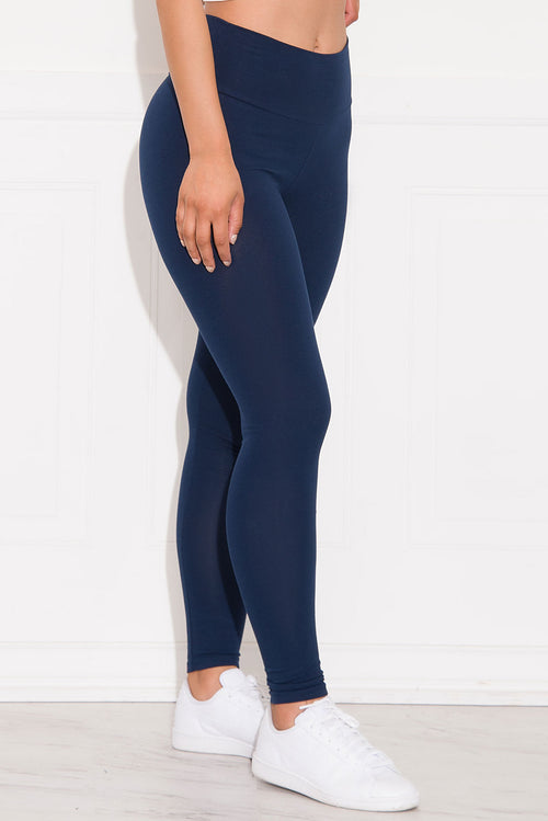 Skylar High Waist Leggings Navy