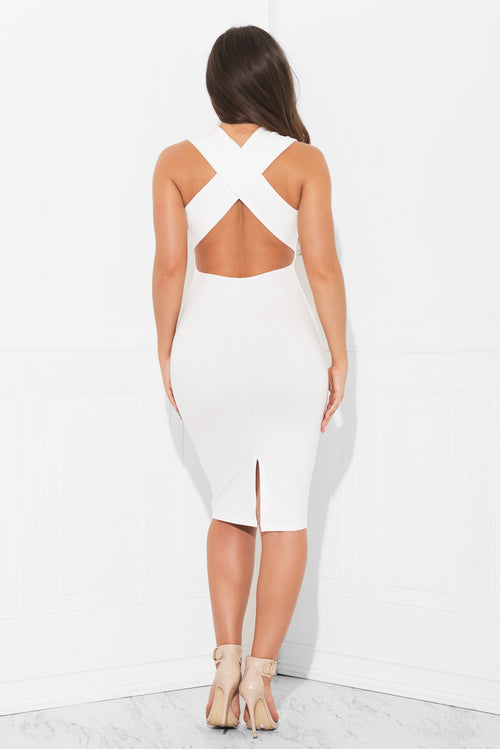 Love At First Sight  White Dress- RESTOCKED