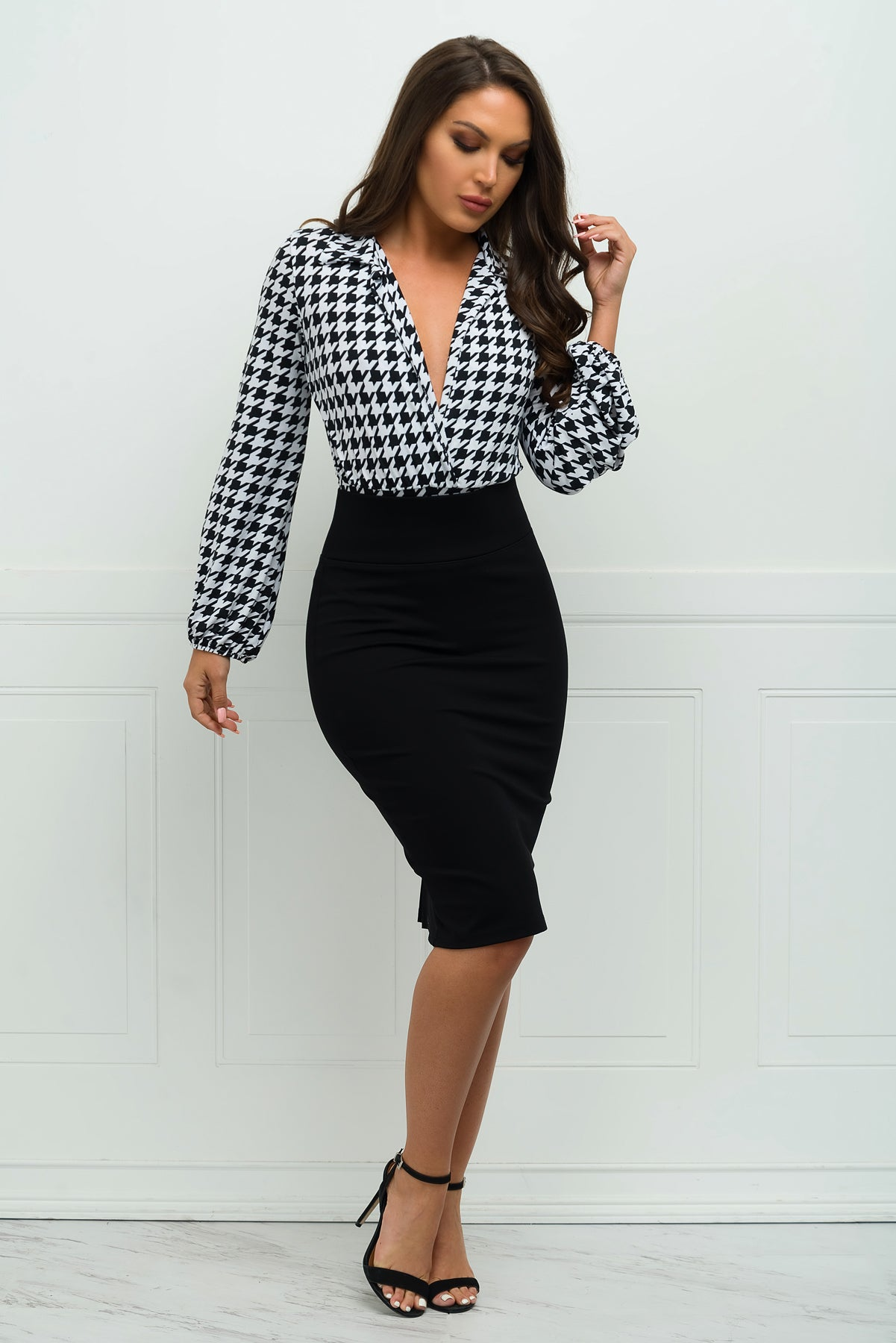 Andy Pencil Skirt - Black