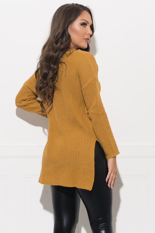 Denisse Sweater - Mustard