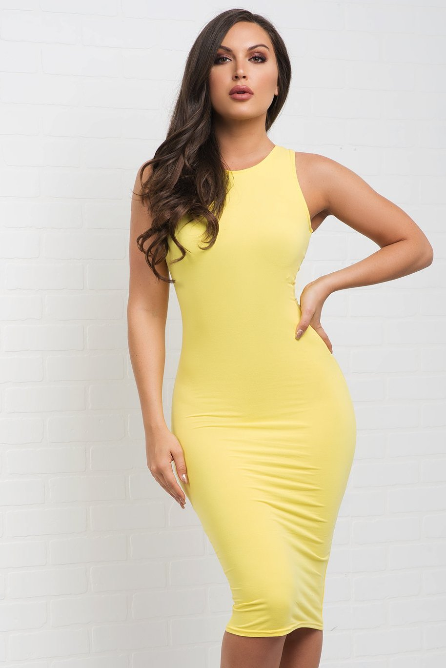 Marlene Dress - Yellow