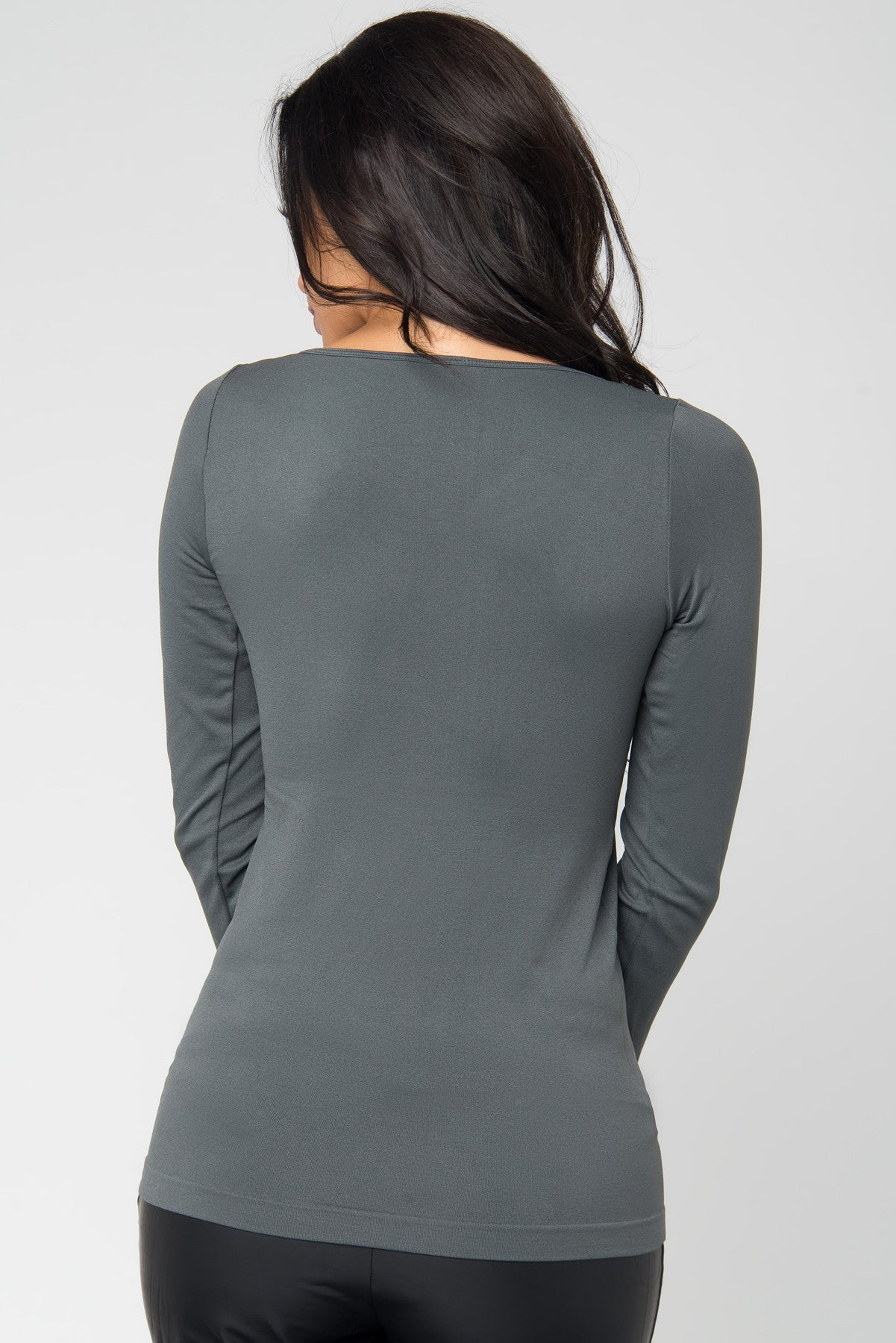 RESTOCK The Softest Blouse Ever Gray - Fashion Effect Store  - 3