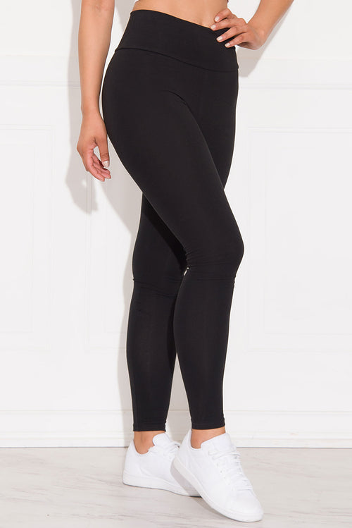 Skylar High Waist Leggings Black