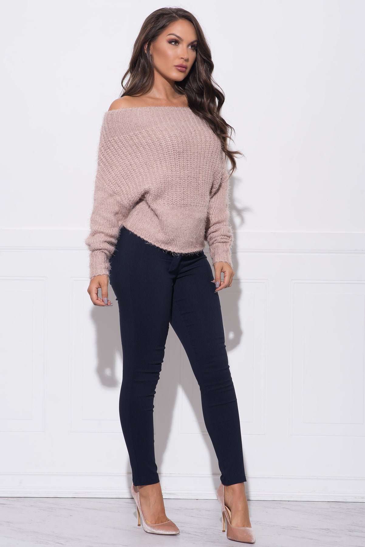 Piper Sweater - Blush