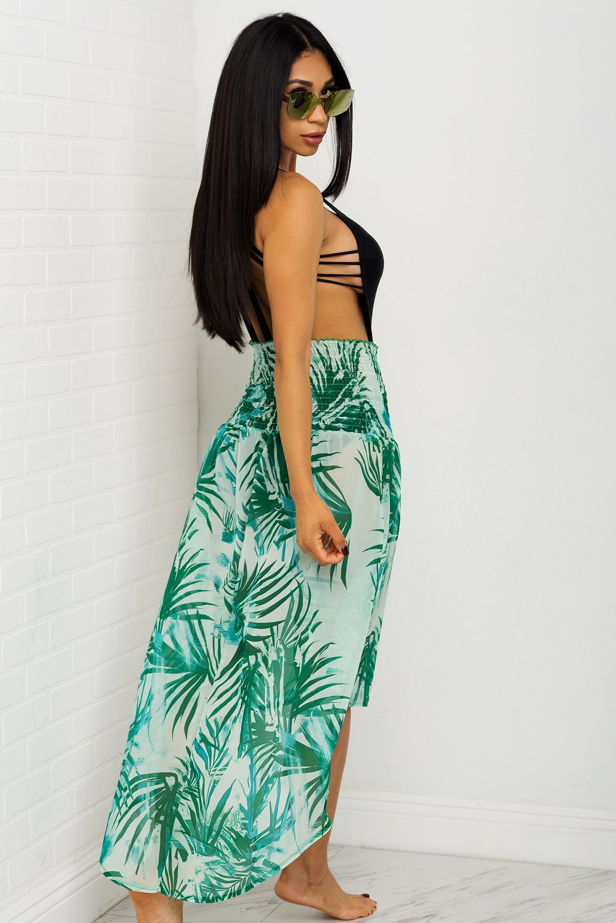 Beach Babe Cover Up Green
