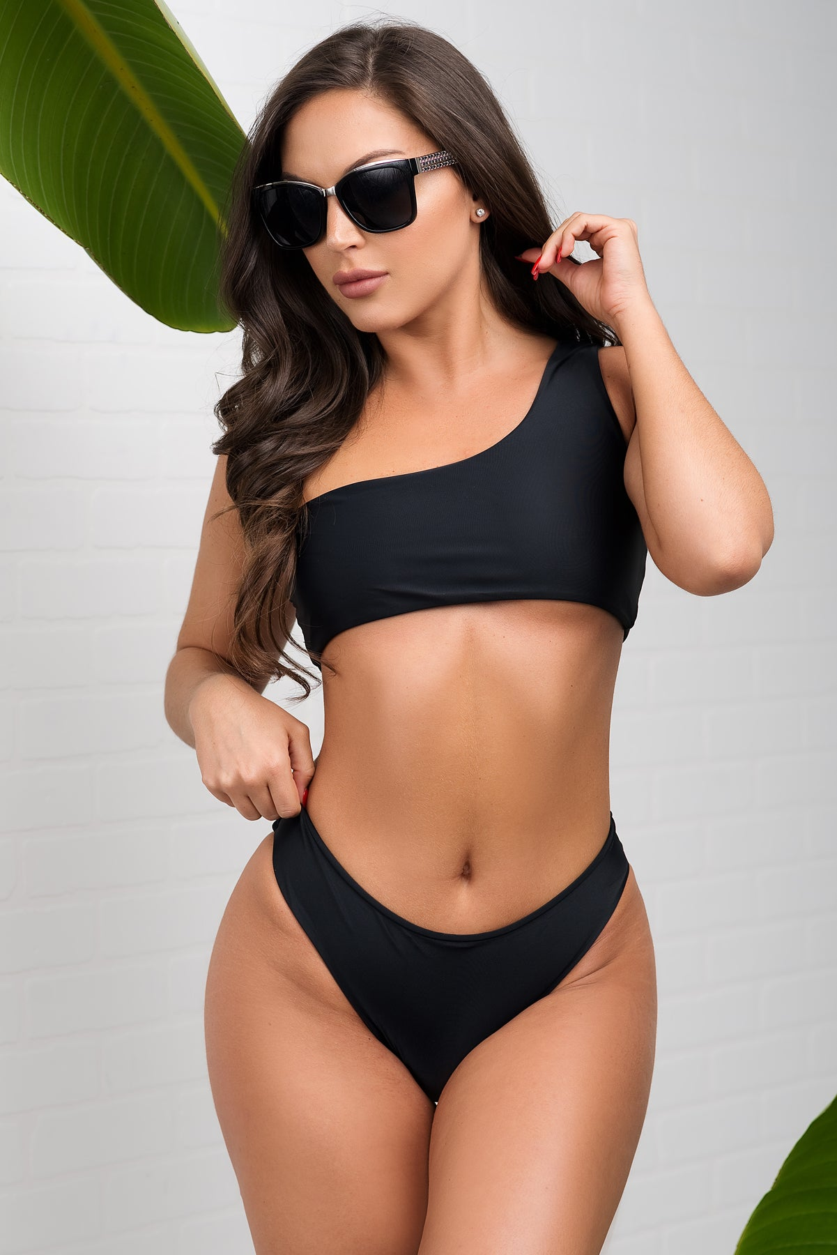 Tahiti Two Piece Swimsuit  - Black