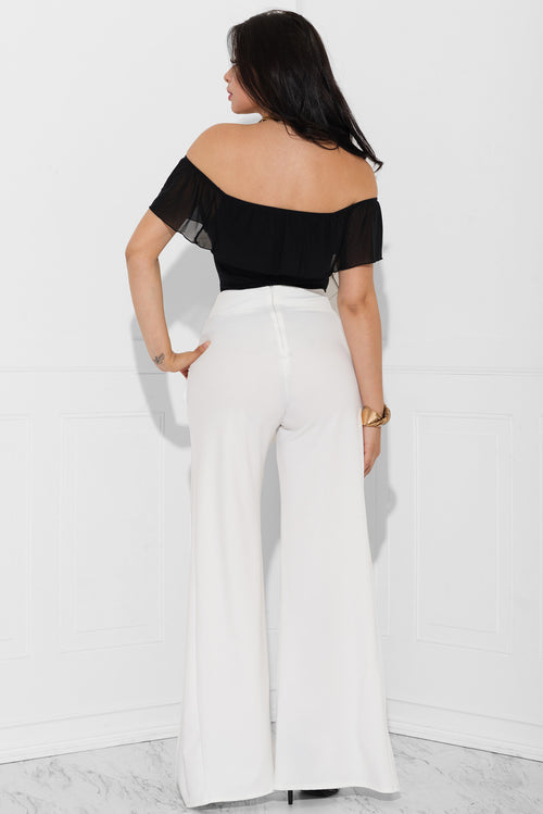 Deanna Off White Pants