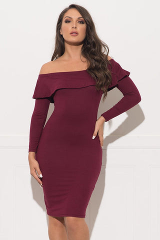 McKinley Dress - Dusty Mauve