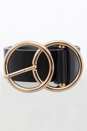 Be My Only Belt Black Gold