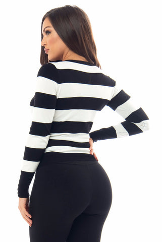 Toni Striped Sweater - Fashion Effect Store  - 2