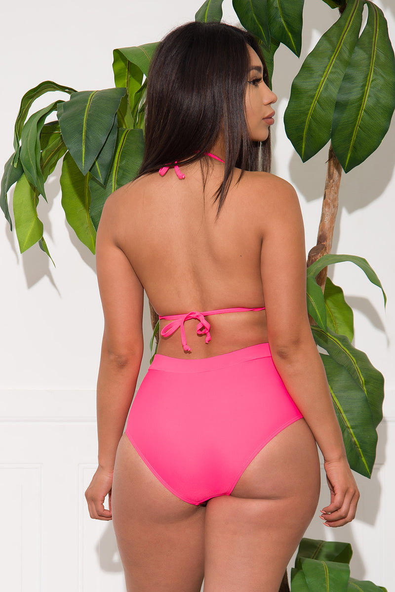 Manta Coast Two Piece Swimsuit Pink