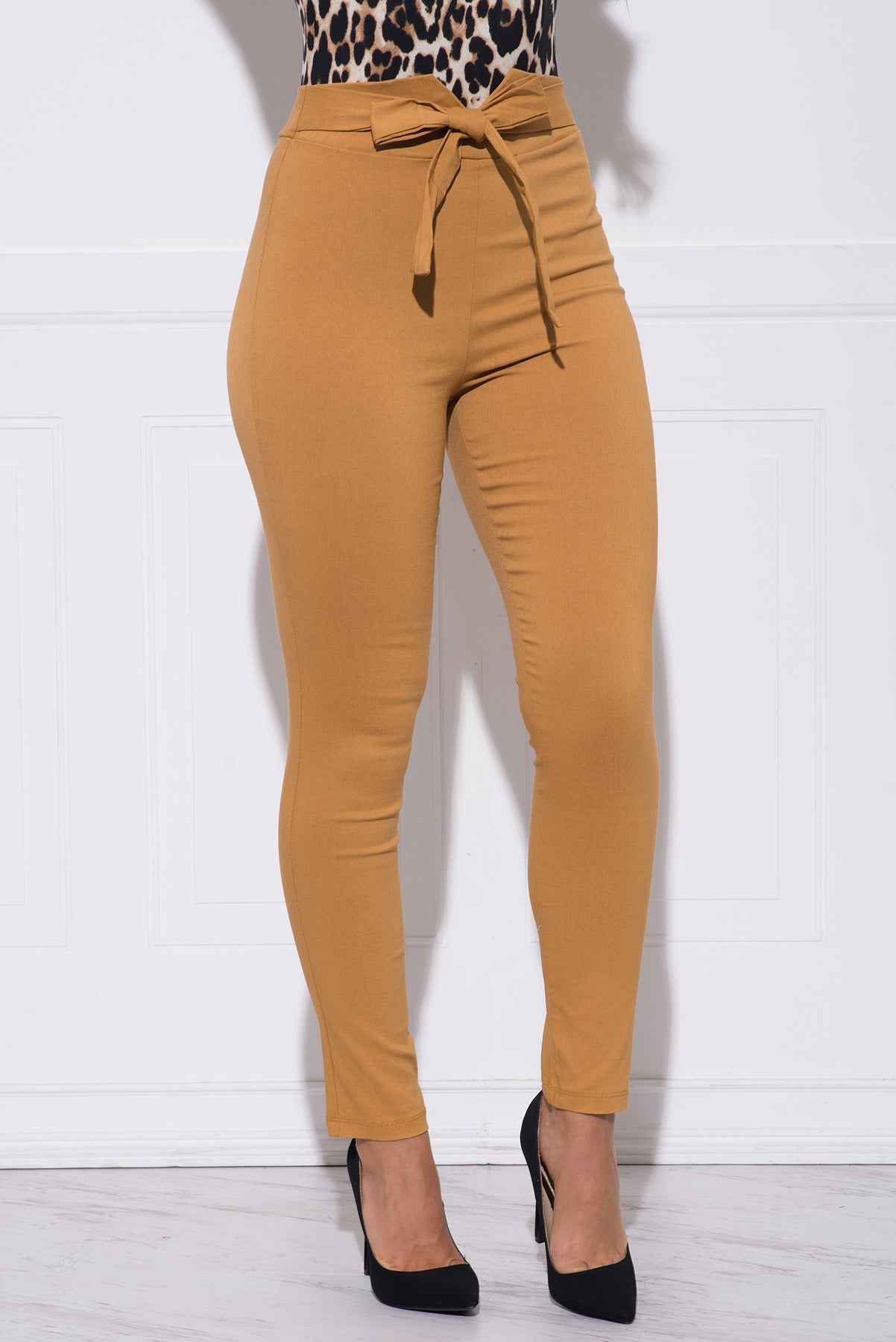 Melannie Pants - Dark Mustard