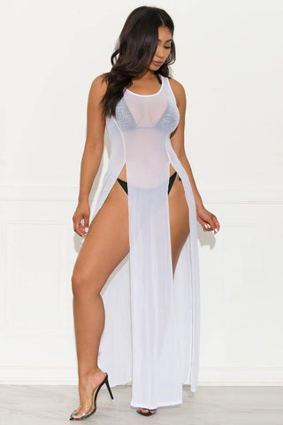 Squad One Piece Swimsuit - Sky Blue