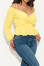 First Class Blouse Yellow