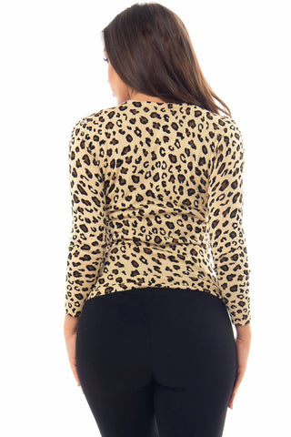 Leilani Cheetah Print Sweater - Fashion Effect Store  - 2