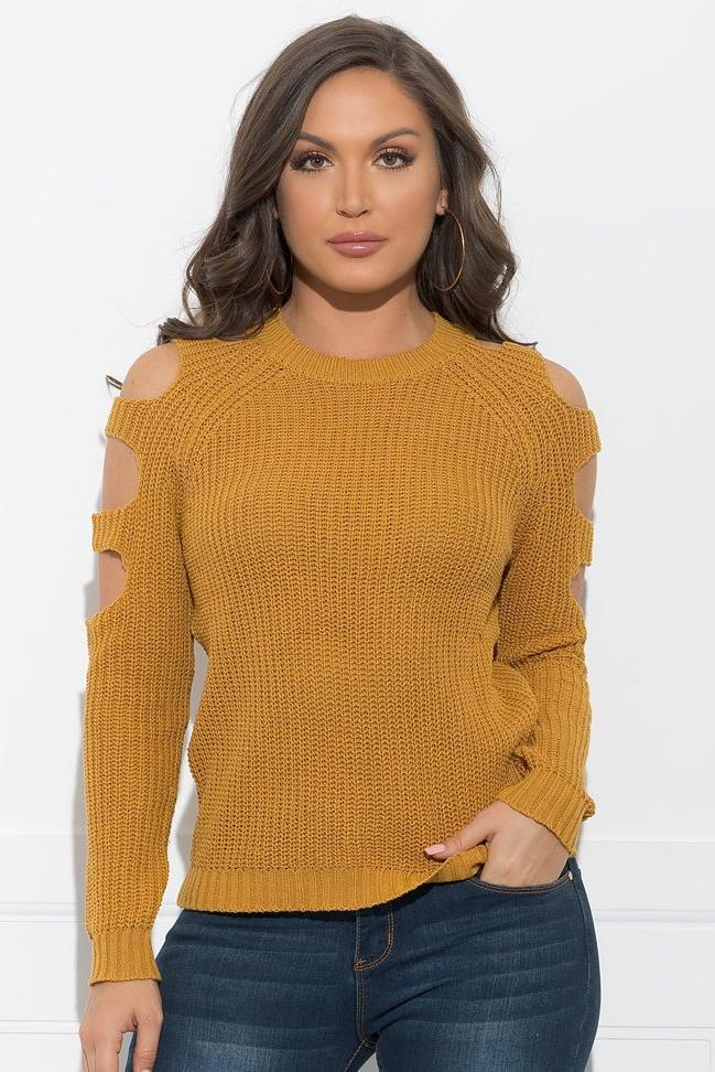 Margaret Sweater - Mustard