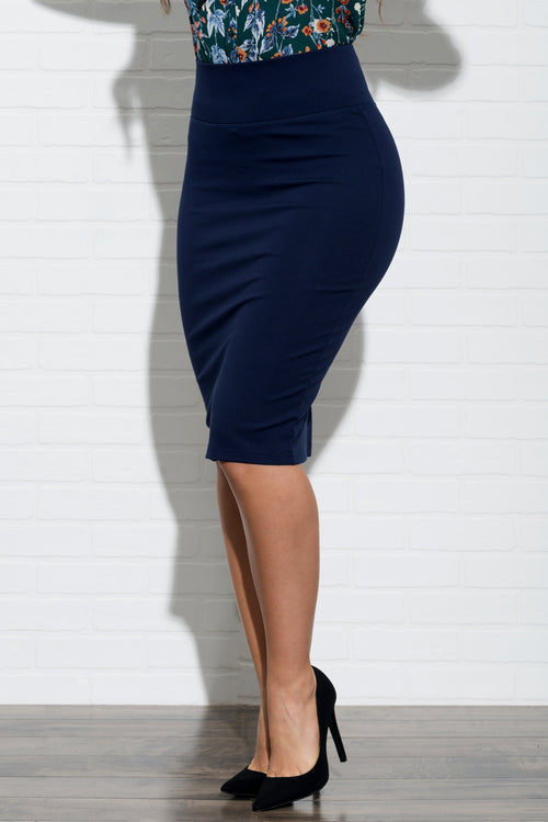 Andy Skirt - Navy Blue