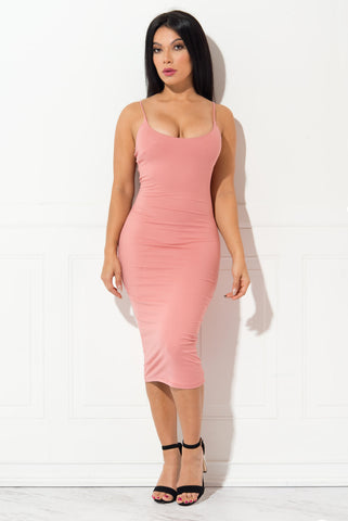 Juliana Pink Dress - Fashion Effect Store  - 1