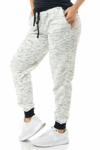 Dina Marbeled Joggers - Fashion Effect Store  - 1