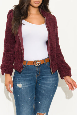 Show Off Sweater Burgundy