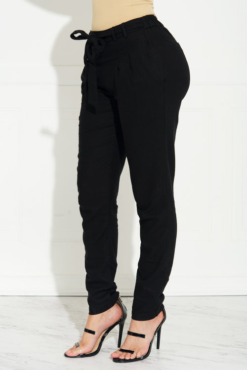 Aurora Jogger Pants Black