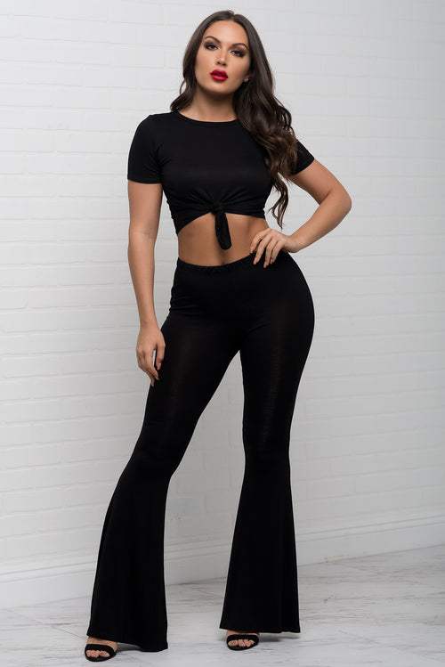 Chloe two piece set - Black