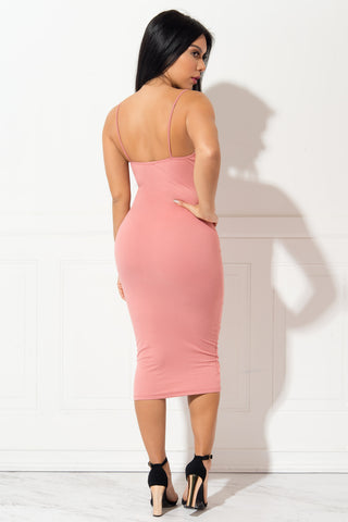 Juliana Pink Dress - Fashion Effect Store  - 2