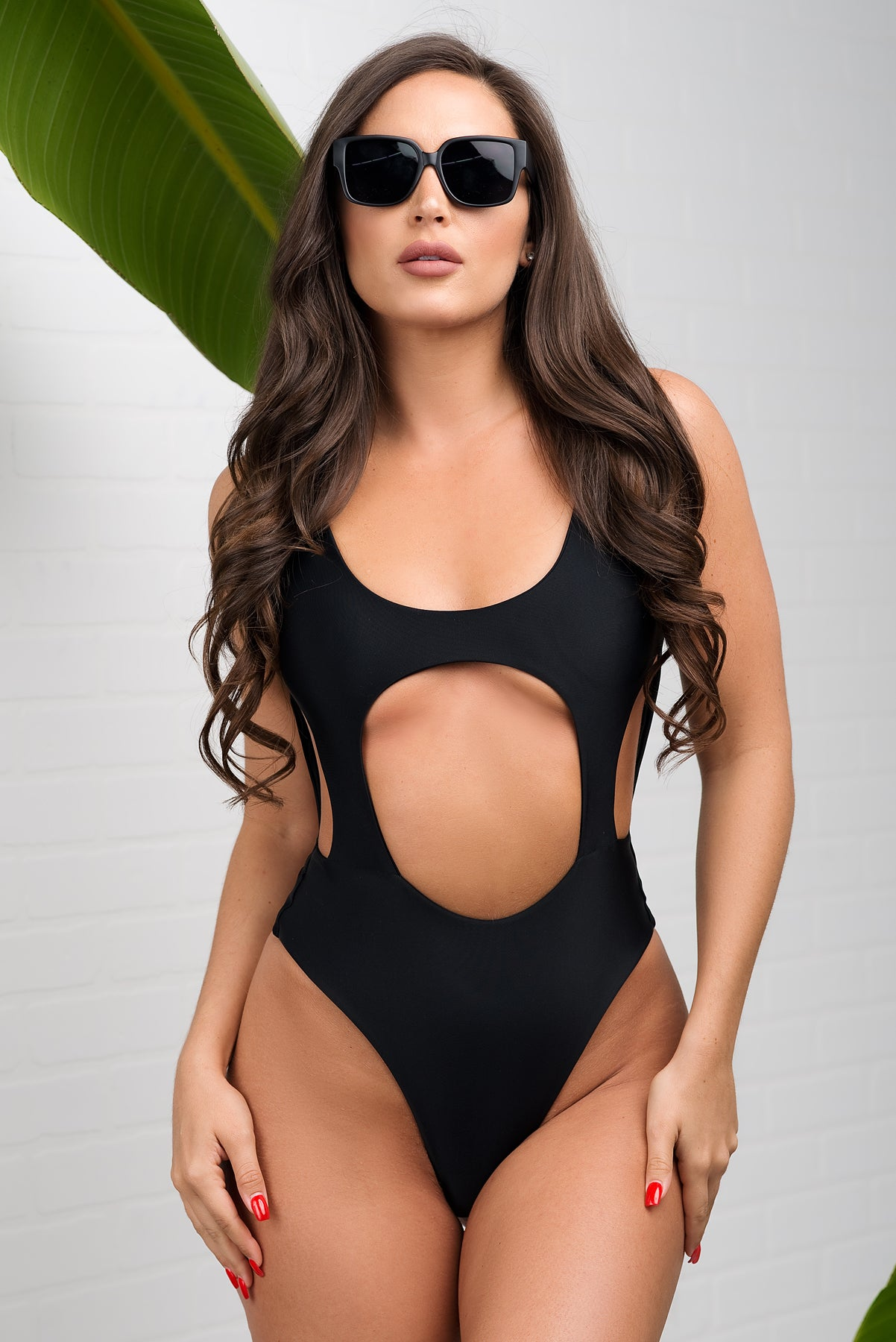 Tobago One Piece Swimsuit - Black
