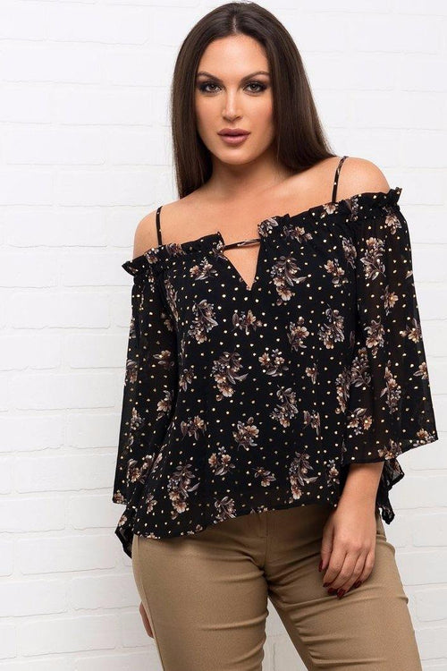 Aileen Floral Top