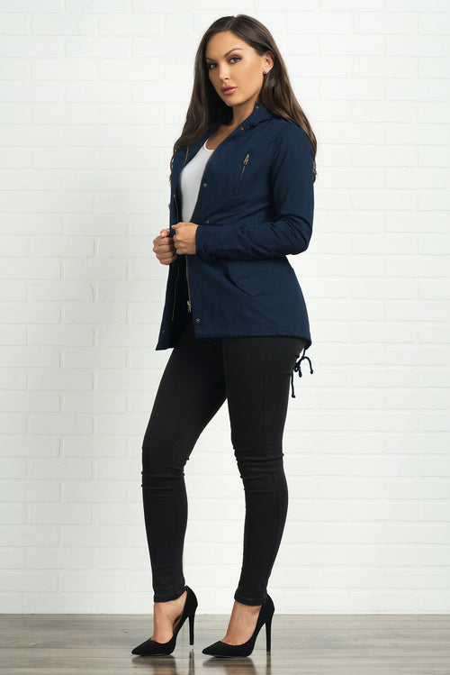 Kelley Jacket- Navy