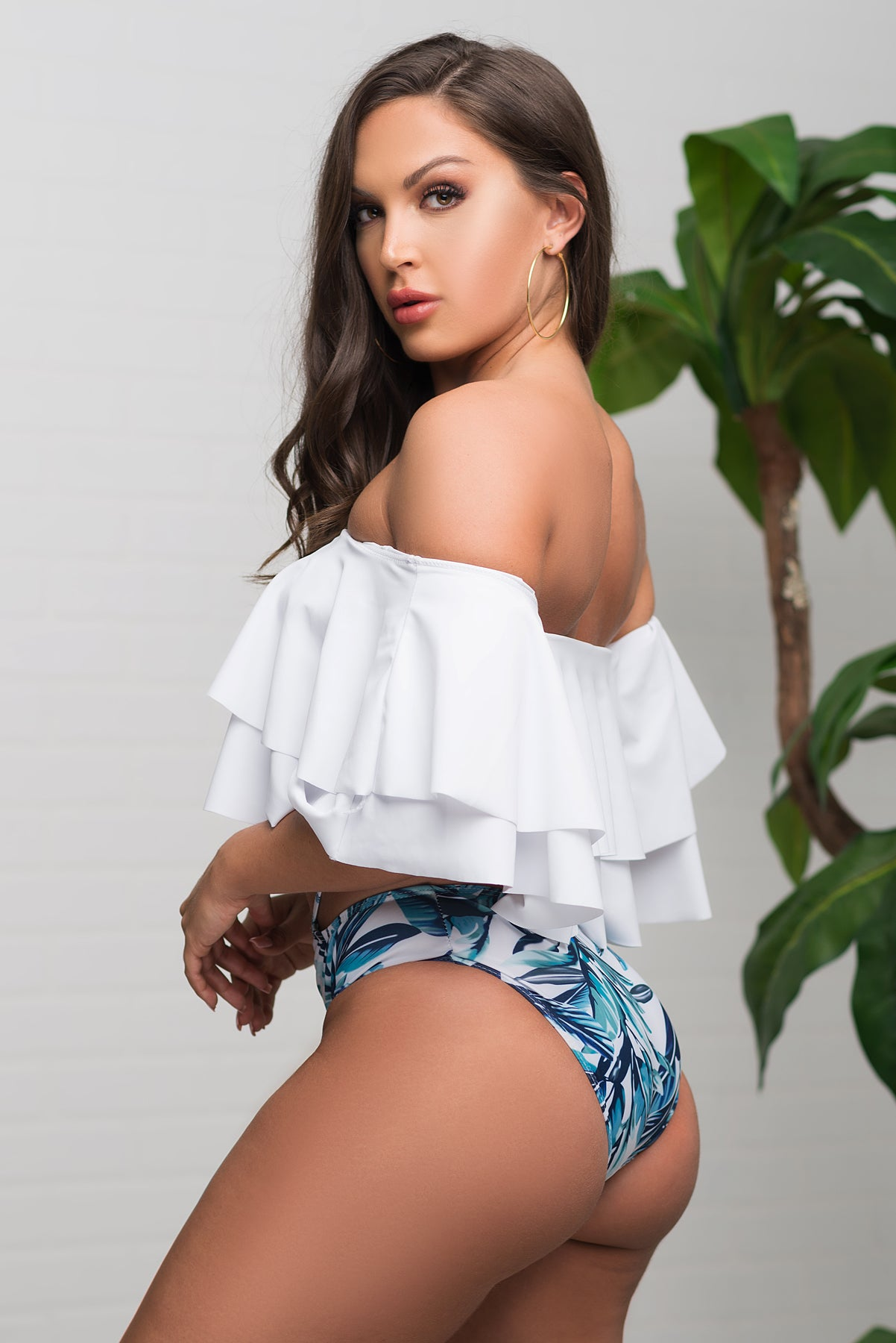 Stormy Shore Two Piece Swimsuit