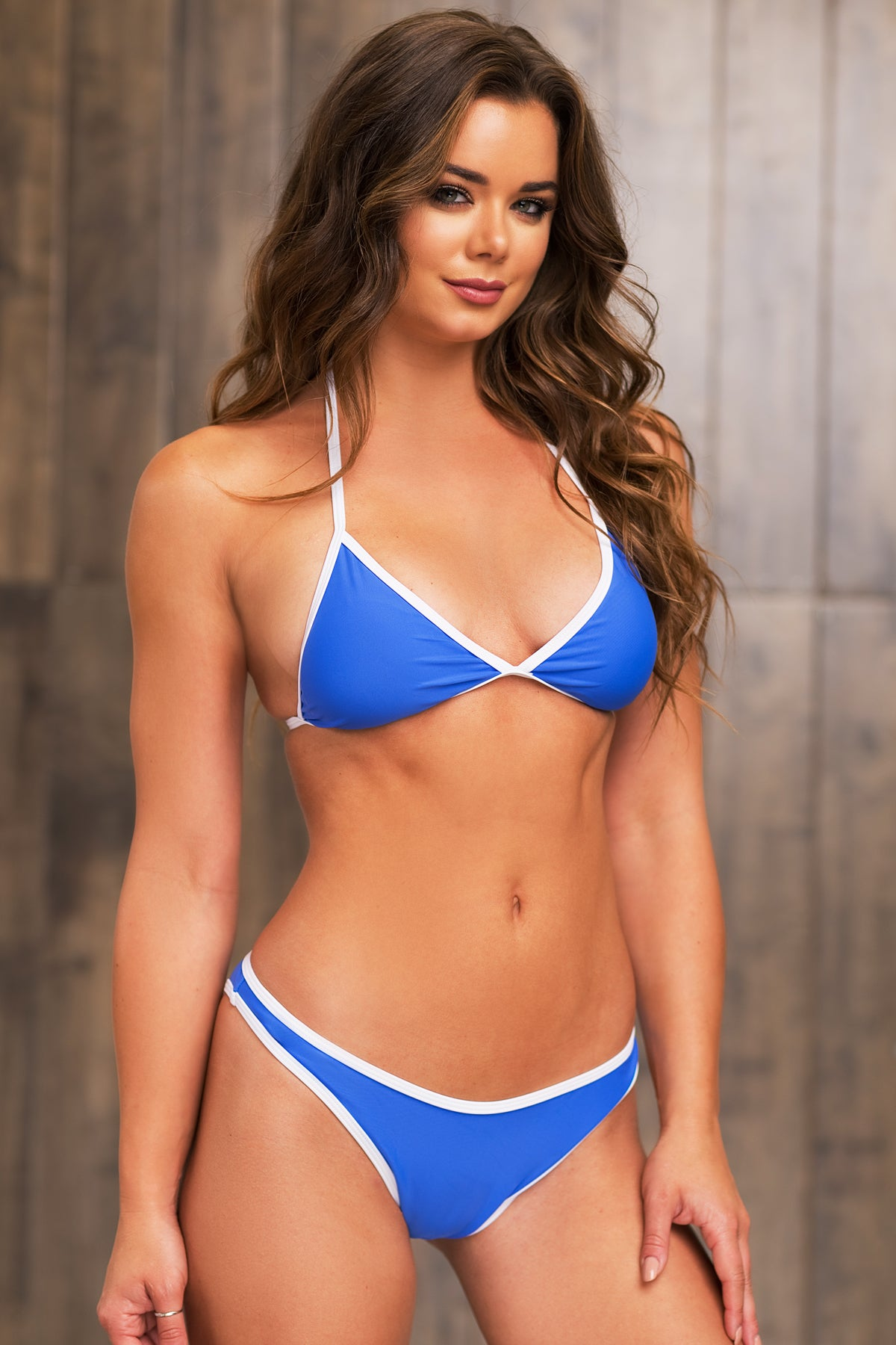 Rainbow Beach Two Piece Swimsuit - Blue