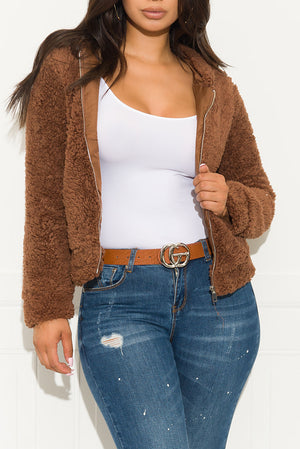 Show Off Sweater Brown