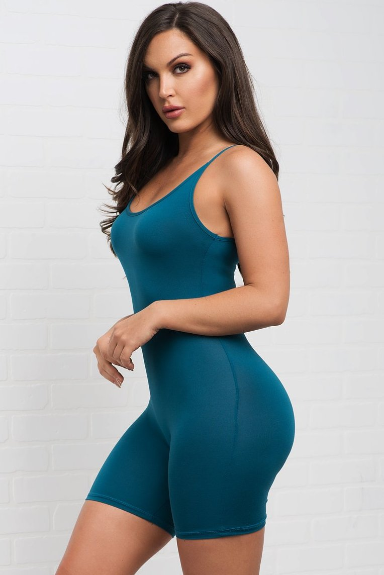 Martha Romper- Teal