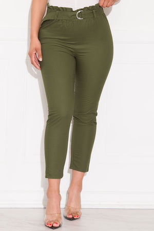 Timeless Moments Pants Olive