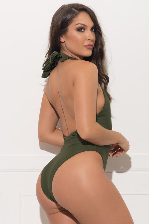 Coco bay One Piece Swimsuit - Olive