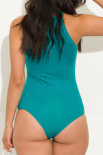 Chill Out  Bodysuit Turquoise